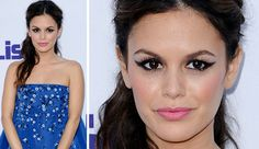How-to: Rachel Bilson's edgy winged eye and pretty pout