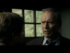 The Trailer for Gran Torino.  An absolute much see film.  I've seen in somewhere between 8 and 10 times.