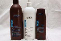 Cosmoholic: Ziaja Cocoa Butter: Body Lotion, Creamy Shower Soap & Hand Cream