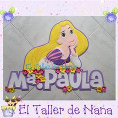 Aplique de Rapunzel