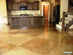 Acid Stained Concrete Floors - The Beauty is in the Quality
