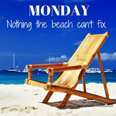 Monday- Nothing the Beach Can't Fix. Find out how you can further enjoy our Tampa Bay/Gulf Beaches at http://paradisenewsfl.com