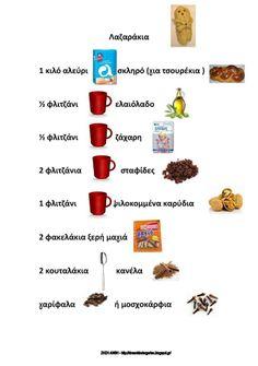 Συνταγή για λαζαράκια