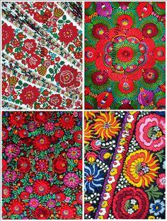 Embroidery Hungarian Magyar Matyo Folk Art от closencounters