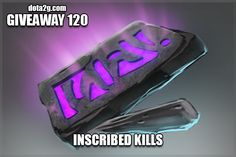 Giveaway 120 - Inscribed Kills