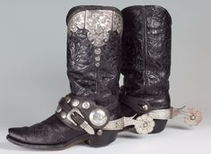 Edward H. Bohlin Boots and Spurs