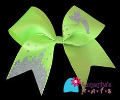 Cheer Bow by SamanthasHats on Etsy, $12.50!!! this is so adorable!!! <3 @Brielle Feauto Disney Cheer Bows, Cute Cheer Bows, Cheer Hair Bows, Cheer Mom, Big Bows, Softball Bows, Cheerleading Bows, Cheerleading Uniforms, Cheer Quotes