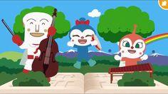 もりのくまさん♪ うたっておどってアンパンマン❤ 歌と踊りのメドレー♫ 歌 ダンス アニメ ゲーム Japanese Kids TV Anima...