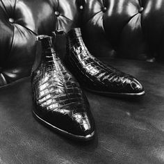 Ed Et Al Shoemakers (Singapore) - Bespoke Chelsea Boots