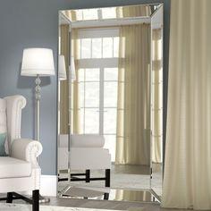 Rectangle Antique Floor Mirror | Floor mirror and Products