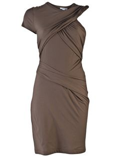 All I need is that flat stomach...or a really good pair of spanx. CARVEN jersey dress / Farfetch