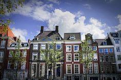 Amsterdam houses    DPP RAW postprocessing  Photomatix TIFF HDR