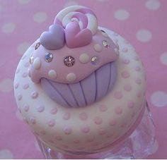 Decorado con cortador de cupcake