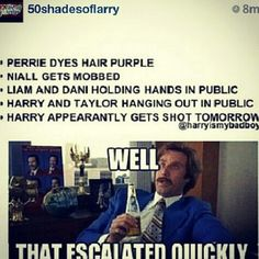 Today guys. TODAY. But its didnt happen thank god. Seriously, Im so glad he and everyone else is safe