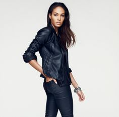 Woolworths launches their Winter 2014 fashion campaigns online and on TV today. This is their latest for Studio.w which introduces supermodel Joan Smalls as the face of the brand this winter. Winter Fashion 2014, Joan Smalls, Leather Jacket, My Style, Casual, How To Wear, Jackets, Shopping, Clothes