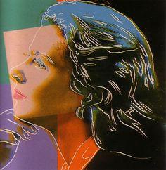 "Andy Warhol  ""Ingrid Bergman Herself II.313""  Limited Edition Print  Screenprint  38 x 38 in / 97 x 97 cm"