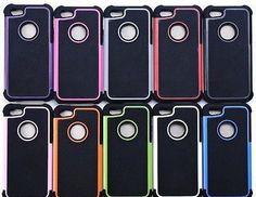 Heavy Duty Impact Gel Case For Apple iPhone 4/4S