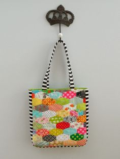 lozenges tote bag by S.O.T.A.K