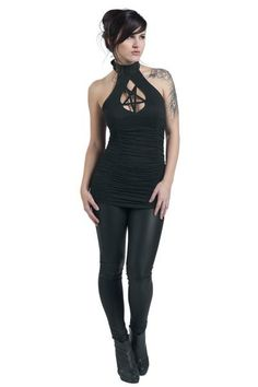 Gothicana by EMP #Pentaculo #Gotico #Gothic top mujer - http://emp.me/Ac4