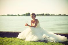 outdoor ceremony, bride, groom, garden, wedding