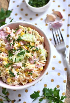 Orzo, Easy Entertaining, Salad Dressing, Risotto, Potato Salad, Salads, Clean Eating, Potatoes, Lunch