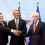 Bruxelles:Obama incontra i vertici dell'Ue