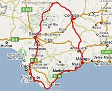 De mooiste routes! Spanjecamper heeft voor u de mooiste routes uitgezocht voor een geslaagde Fly & Drive! Maak een mooie rondreis door het prachtige zuiden Andalusië of door het groene Extremad…