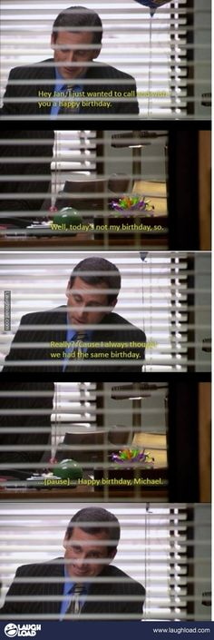 The only way I can get a happy birthday
