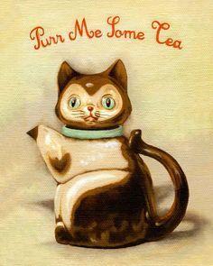 Purr me some tea