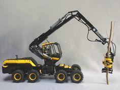 LEGO Ideas - Forest Harvesting Machine