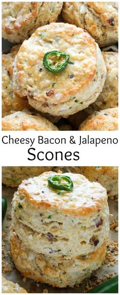 Bacon, Pepper Jack, and Jalapeno Scones - these are INCREDIBLE!