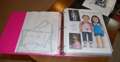With my current interest in sewing clothes for American Girl dolls, I've seen my collection of patterns grow by leaps and bounds. In ord...