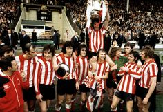 Max Rushden, Barry Glendenning and Jonathan Wilson discuss Sunderland v Leeds in the 1973 FA Cup final, the Belarusian Premier League, The English Game and chapter two of Detective Wilson Sunderland Football, Sunderland Afc, Premier League, Middlesbrough Fc, Retro Football, Vintage Football, English Games, Fa Cup Final, Most Popular Sports