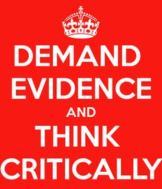 Demand evidence and think critically - important part of genealogy research. If you don't do this, your research is basically worthless. Cite your sources!!