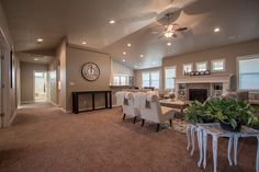 The Vintage by Hayden Homes - Great Room - the Vintage offers 3 bedrooms and 2.5 bathrooms with 2,610 sq. feet.