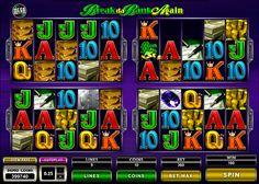 Break Da Bank Again MegaSpin on tosi valtava Microgaming kolikkopeli netissä! Jos haluat voitta isot rahasummat, ilman muuta aloita pelata tämän hyvää kolikkopeli verkossa missä saat erilaiset bonukset, valtava grafiikka, 20 rullat ja 9 voittolinjat!