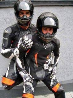 Gay Leather Biker from Belgium Bike Suit, Motorcycle Suit, Motorcycle Leather, Biker Leather, Sexy Biker Men, Biker Boys, Mens Leather Pants, Leather Joggers, Biker Couple