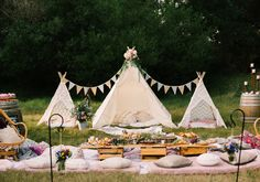 Luxury Teepee Picnic Hire Styled to Perfection Backyard Birthday, Picnic Birthday, Outdoor Birthday, Boy First Birthday, Kids Picnic, Picnic Set, Picnic Style, Picnic Ideas, Beach Picnic