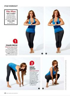 "Jennifer Love Hewitt's ""Rump Shaking Yoga Workout"" Yoga Fitness, Health Fitness, Fitness Inspiration, Sculpter Son Corps, Yoga Pilates, Yoga Exercises, How To Pose, Get In Shape, Excercise"
