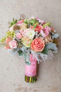 pink ivory blush green sherbets roses yellow pastels