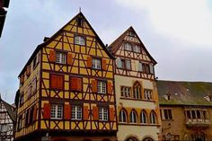 Maison Adolph in Colmar France is the town's oldest surviving private house. It was built in 1350 for the Adolph family.