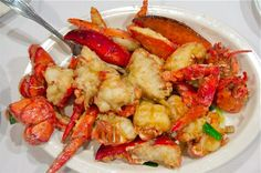 Lobster Dishes, Lobster Recipes, Seafood Dishes, Shrimp Recipes, Fish And Seafood, Fish Recipes, Chinese Recipes, Chinese Food, Asian Recipes