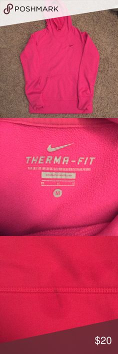 Nike Therma Fit Sweatshirt only wore once. one really small mark on back but never have tried to remove it. Nike Tops Sweatshirts & Hoodies
