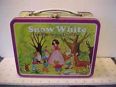 Everyday they would rock these vintage lunch boxes to school while professing…