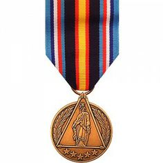 The Global War on Terrorism Civilian Medal is a decoration of the Department of Defense presented to recognize civilian staff of the Department of Defense who have directly supported service in the War on Terror from September 11, 2001 to a yet to be determined date. To be eligible, personnel must have served for at least 30 consecutive or 60 cumulative days abroad in support of an authorized anti-terrorism operations.