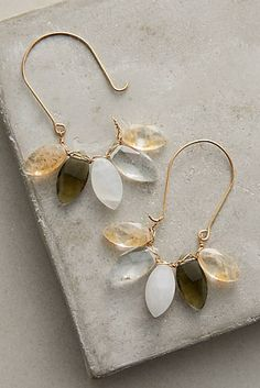 Anthropologie Favorites:: New Arrival Bohemian and Artisan Jewelry, Hair, Scarves, and Other Small Accessories Wire Jewelry, Bridal Jewelry, Jewelry Gifts, Beaded Jewelry, Jewelry Accessories, Jewelry Design, Bohemian Jewelry, Cheap Jewelry, Jewelry Shop