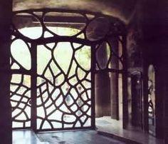 Antoni Gaudi - Mila Vestibule Gate - Barcelona