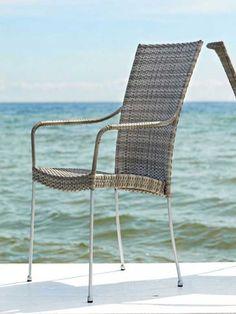 Sika Design Avantgarde Gartenstuhl Saturn mit Armlehne kaufen im borono Online Shop