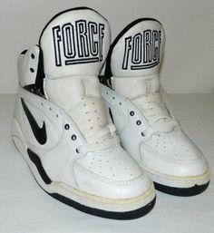 Vintage Unworn 1992 93 94 Nike Court Force Sneakers Size 7.5 US