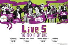 LIV5 (A Rocket to the Moon, The Ready Set, Forever the Sickest Kids, The Summer Set, A+ Dropouts) - Concert # 13
